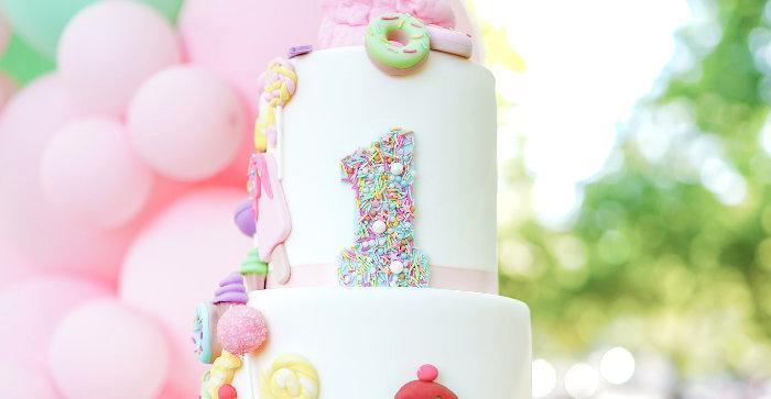 Pastel Ice Cream Picnic Party on Kara's Party Ideas | KarasPartyIdeas.com (1)