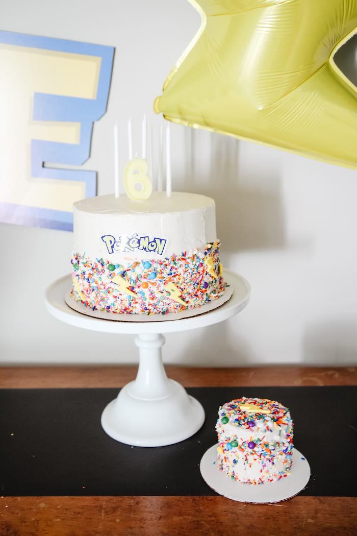 Pokemon Cakes from a Pokemon 5th Birthday Party on Kara's Party Ideas | KarasPartyIdeas.com (7)