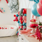 Rainbow First Birthday Party on Kara's Party Ideas | KarasPartyIdeas.com (4)