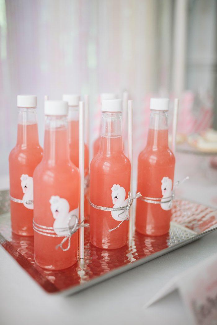 Raspberry Lemonade from a Swan Lake Ballet Tea Party on Kara's Party Ideas | KarasPartyIdeas.com (18)