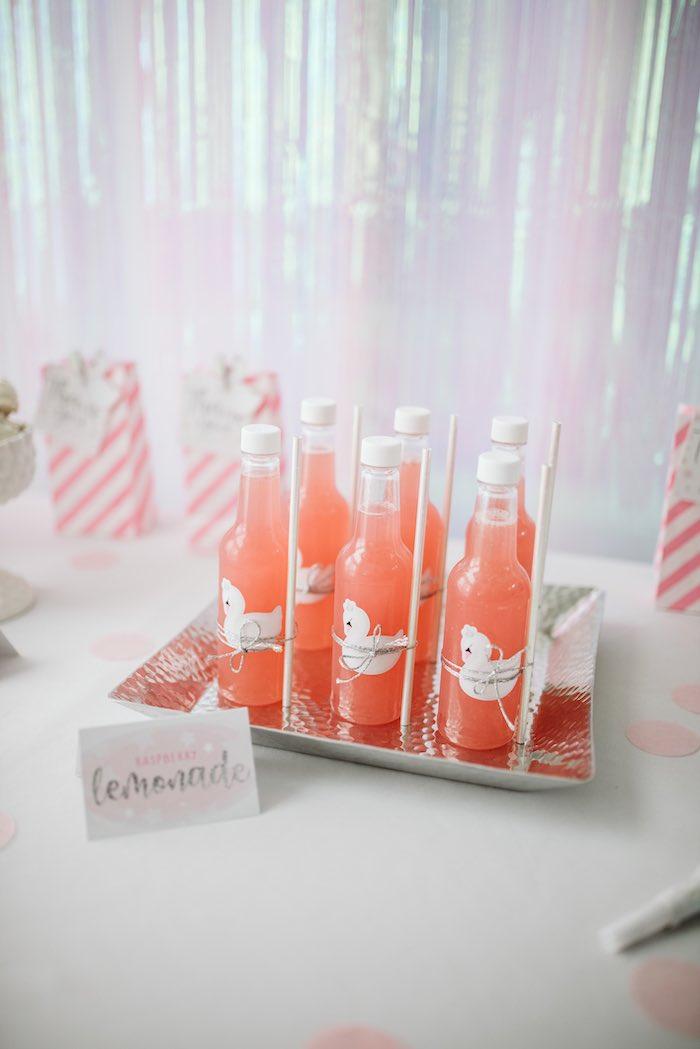 Raspberry Lemonade from a Swan Lake Ballet Tea Party on Kara's Party Ideas | KarasPartyIdeas.com (17)
