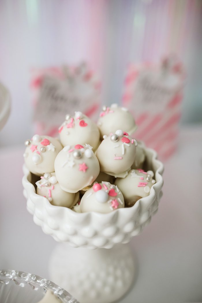 Truffles from a Swan Lake Ballet Tea Party on Kara's Party Ideas | KarasPartyIdeas.com (14)