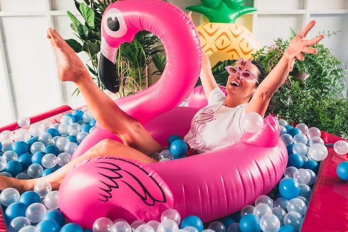 Tropical Flamingo Party on Kara's Party Ideas | KarasPartyIdeas.com (41)