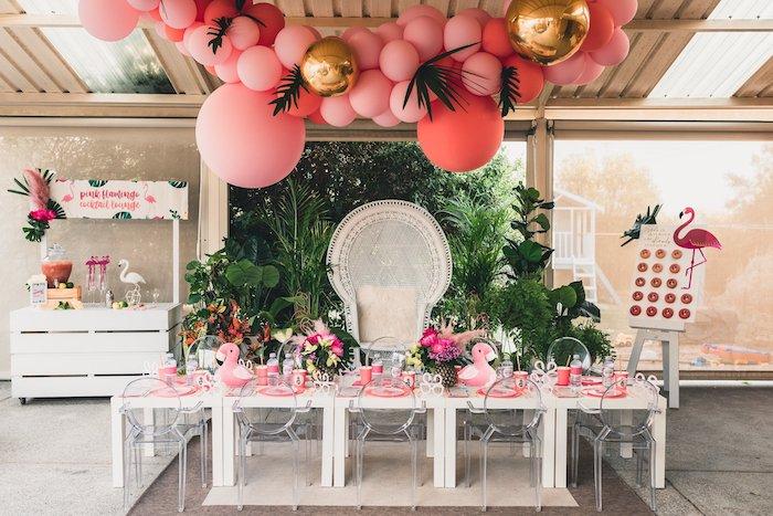 Tropical Flamingo Party on Kara's Party Ideas | KarasPartyIdeas.com (4)