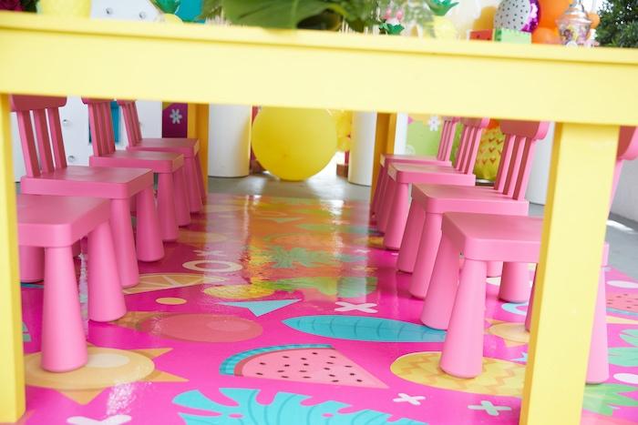 Tutti Frutti Birthday Party on Kara's Party Ideas | KarasPartyIdeas.com (9)