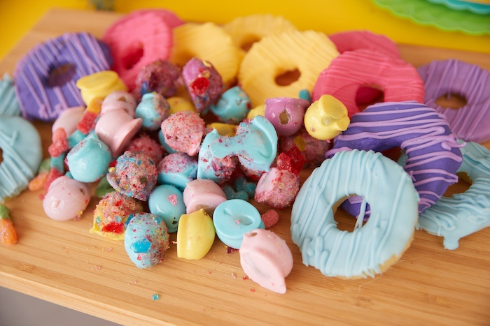 Candy/Sweet Charcuterie Board from a Tutti Frutti Birthday Party on Kara's Party Ideas | KarasPartyIdeas.com (7)