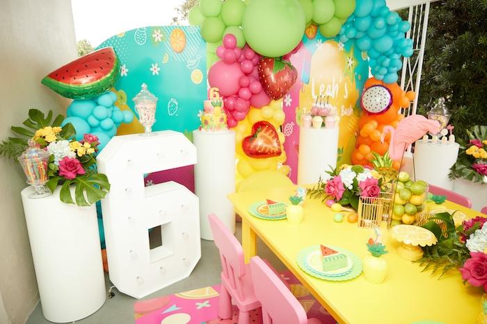 Tutti Frutti Birthday Party on Kara's Party Ideas | KarasPartyIdeas.com (5)