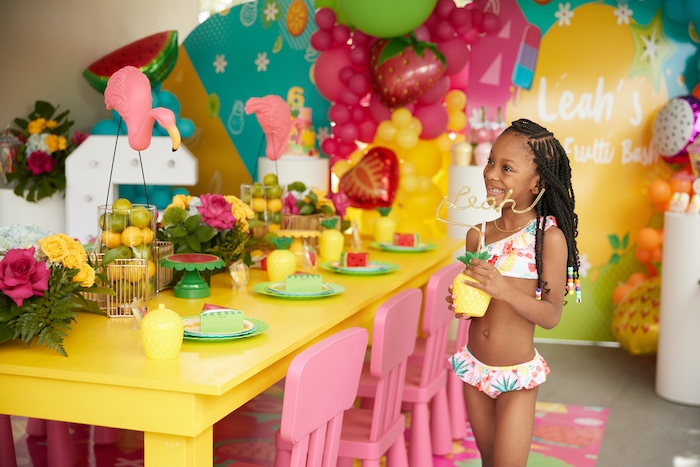 Tutti Frutti Birthday Party on Kara's Party Ideas | KarasPartyIdeas.com (4)