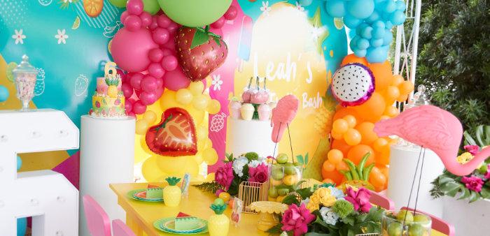 Tutti Frutti Birthday Party on Kara's Party Ideas | KarasPartyIdeas.com (2)