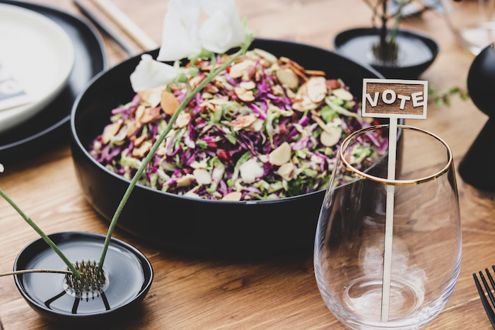 """Food Bowl from a """"Don't Forget to Vote"""" Party on Kara's Party Ideas 