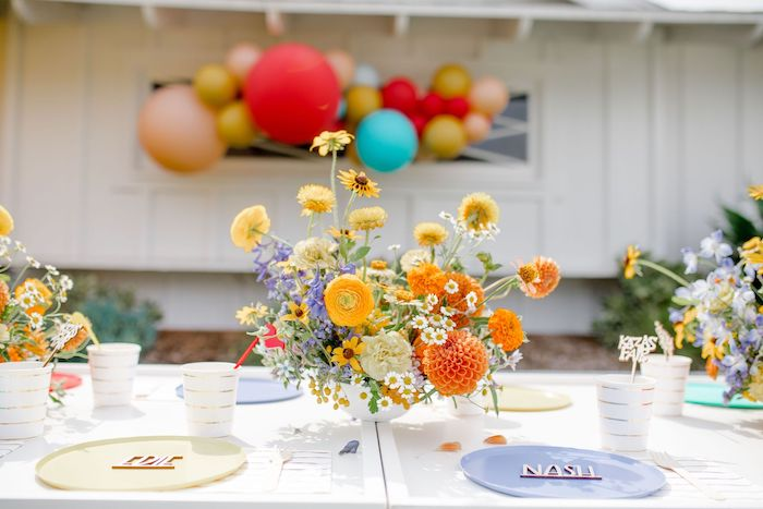 Guest Table from a Carnival + Street Fair Drive-by Party on Kara's Party Ideas | KarasPartyIdeas.com (31)