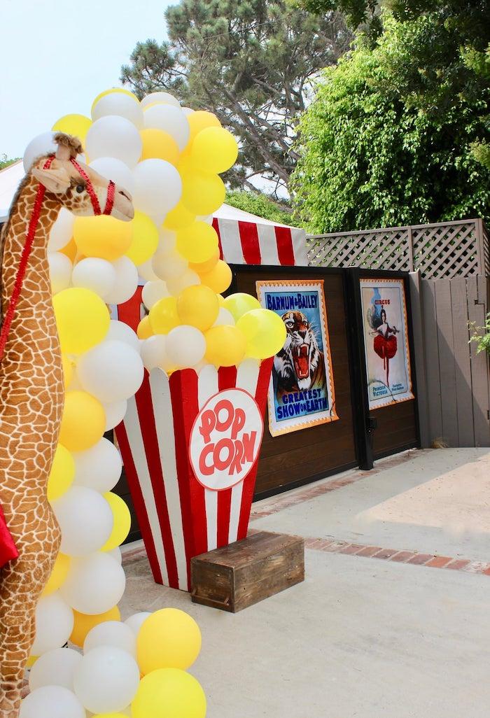 Circus Birthday Party on Kara's Party Ideas | KarasPartyIdeas.com (10)