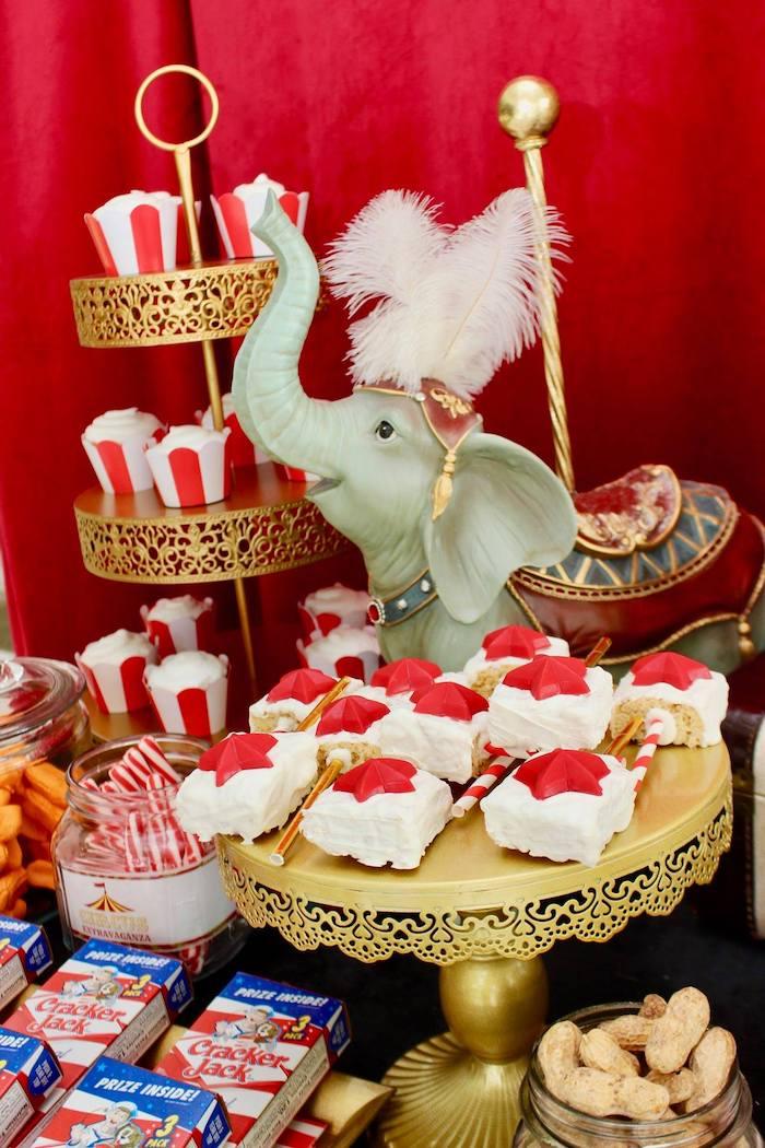 Circus Star Cakes from a Circus Birthday Party on Kara's Party Ideas | KarasPartyIdeas.com (7)