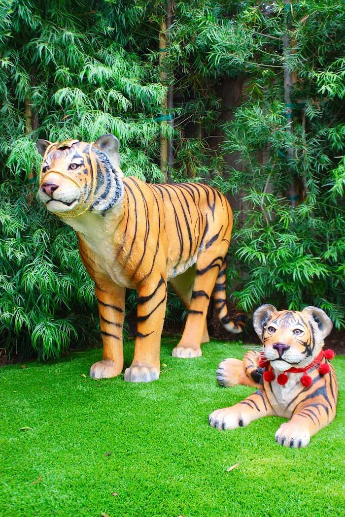 Tiger Props from a Circus Birthday Party on Kara's Party Ideas | KarasPartyIdeas.com (25)