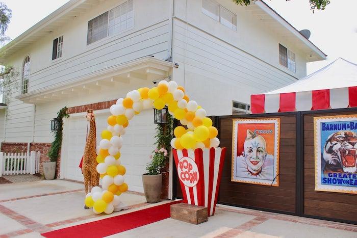 Circus Birthday Party on Kara's Party Ideas | KarasPartyIdeas.com (19)