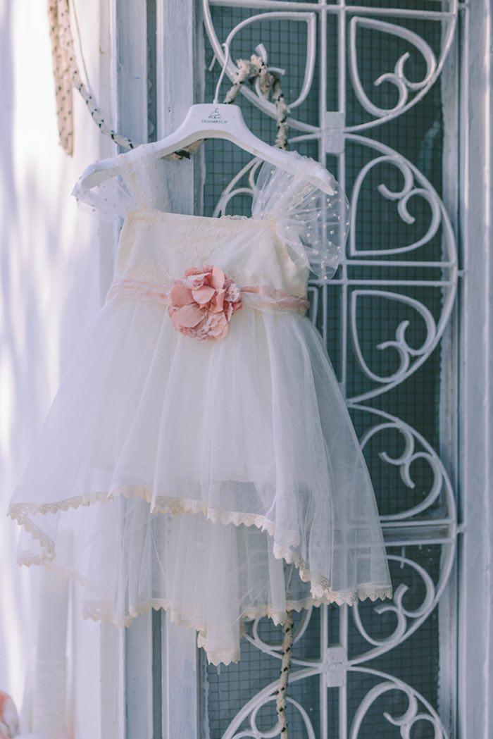Baptism Dress from a Floral Vineyard Baptism Celebration on Kara's Party Ideas | KarasPartyIdeas.com (19)
