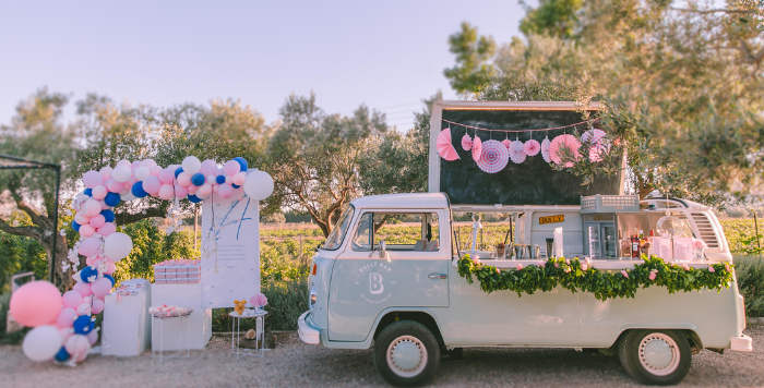 Floral Vineyard Baptism Celebration on Kara's Party Ideas | KarasPartyIdeas.com (3)