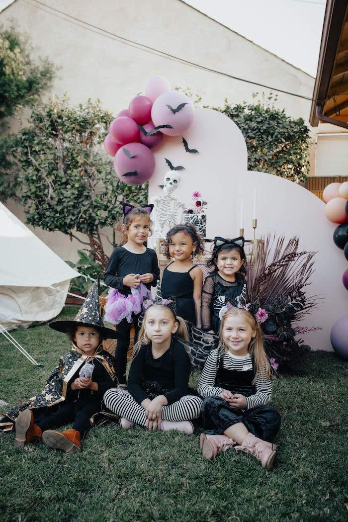 Girly Gothic Halloween Party on Kara's Party Ideas | KarasPartyIdeas.com (17)