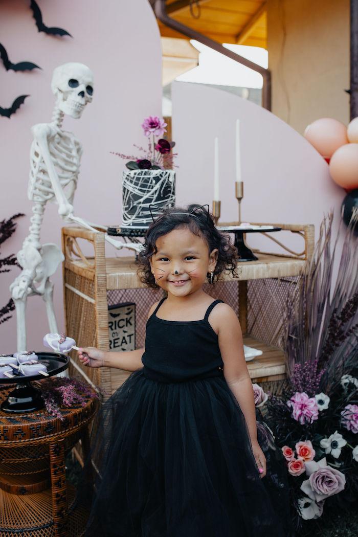 Girly Gothic Halloween Party on Kara's Party Ideas | KarasPartyIdeas.com (11)