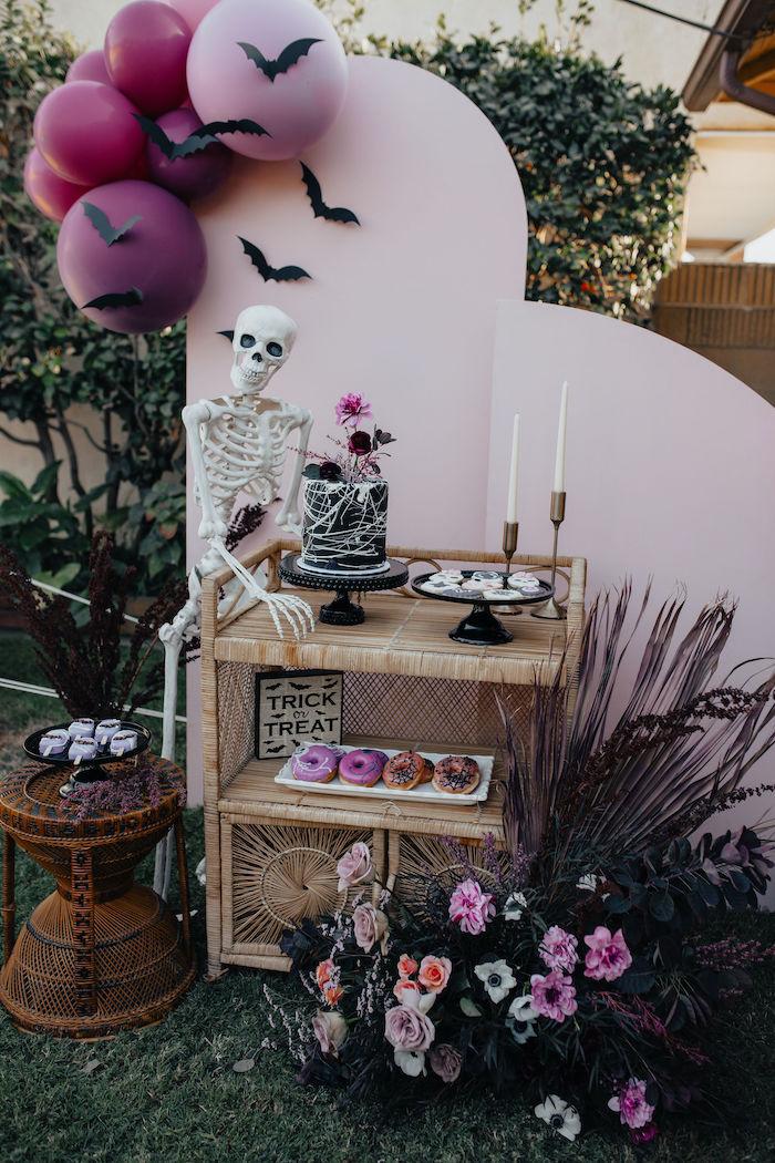 Girly Gothic Halloween Party on Kara's Party Ideas | KarasPartyIdeas.com (2)