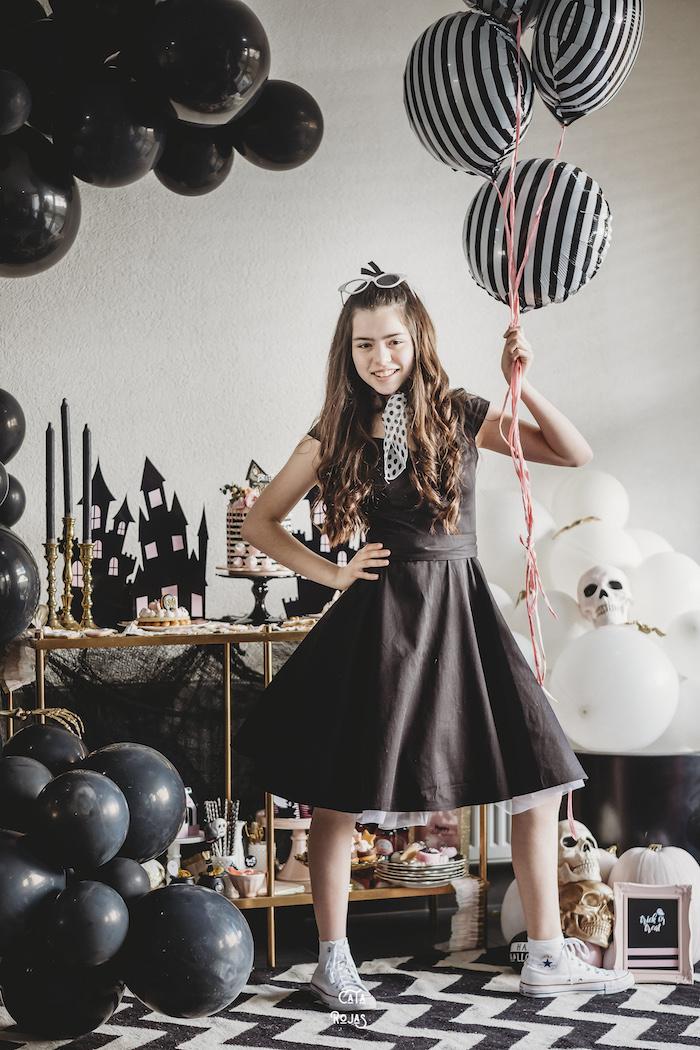 Glam Haunted House Halloween Party on Kara's Party Ideas | KarasPartyIdeas.com (14)