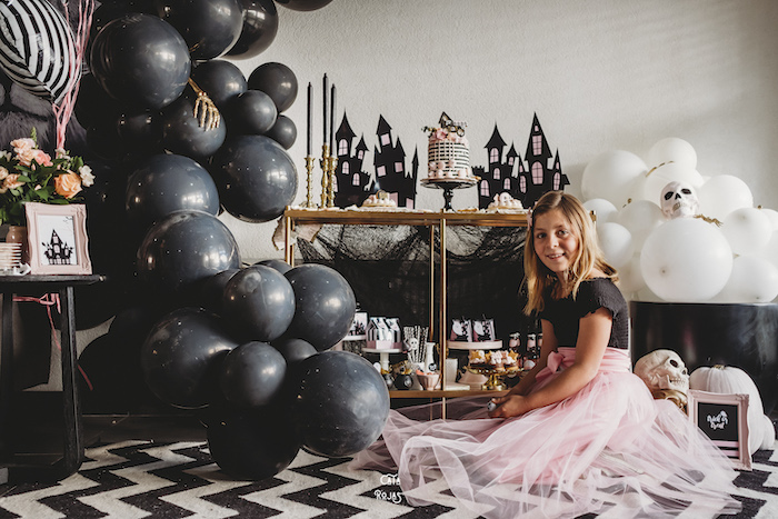 Glam Haunted House Halloween Party on Kara's Party Ideas | KarasPartyIdeas.com (11)