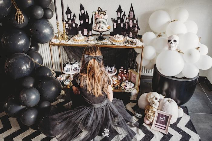 Glam Haunted House Halloween Party on Kara's Party Ideas | KarasPartyIdeas.com (7)