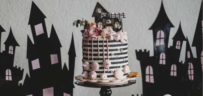 Glam Haunted House Halloween Party on Kara's Party Ideas | KarasPartyIdeas.com (2)