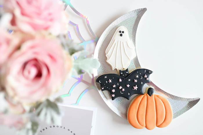 Halloween Cookies from a Halloween Spooktacular on Kara's Party Ideas | KarasPartyIdeas.com (8)