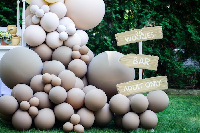 Adult Only Woozles Bar from a Hundred Acre Wood Winnie the Pooh Party on Kara's Party Ideas | KarasPartyIdeas.com (19)