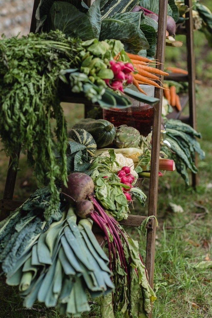 Garden Veggies from a Peter Rabbit & Friends Secret Garden Party on Kara's Party Ideas   KarasPartyIdeas.com (16)