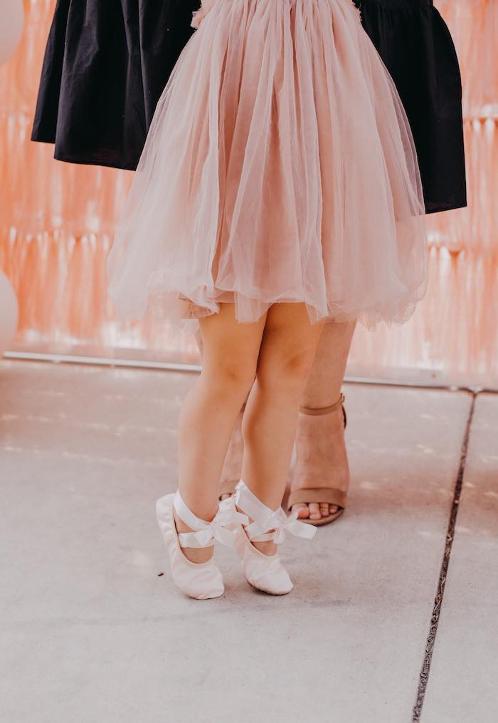 Ballet Toes from a Pink Ballerina Birthday Party on Kara's Party Ideas | KarasPartyIdeas.com (20)