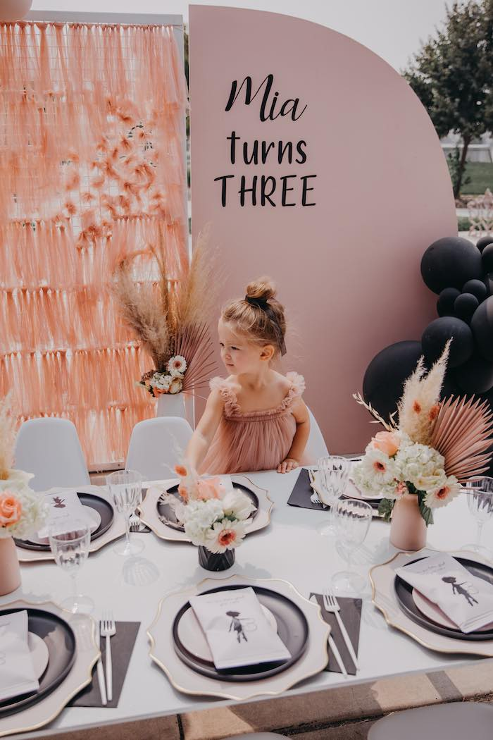 Pink Ballerina Birthday Party on Kara's Party Ideas | KarasPartyIdeas.com (8)