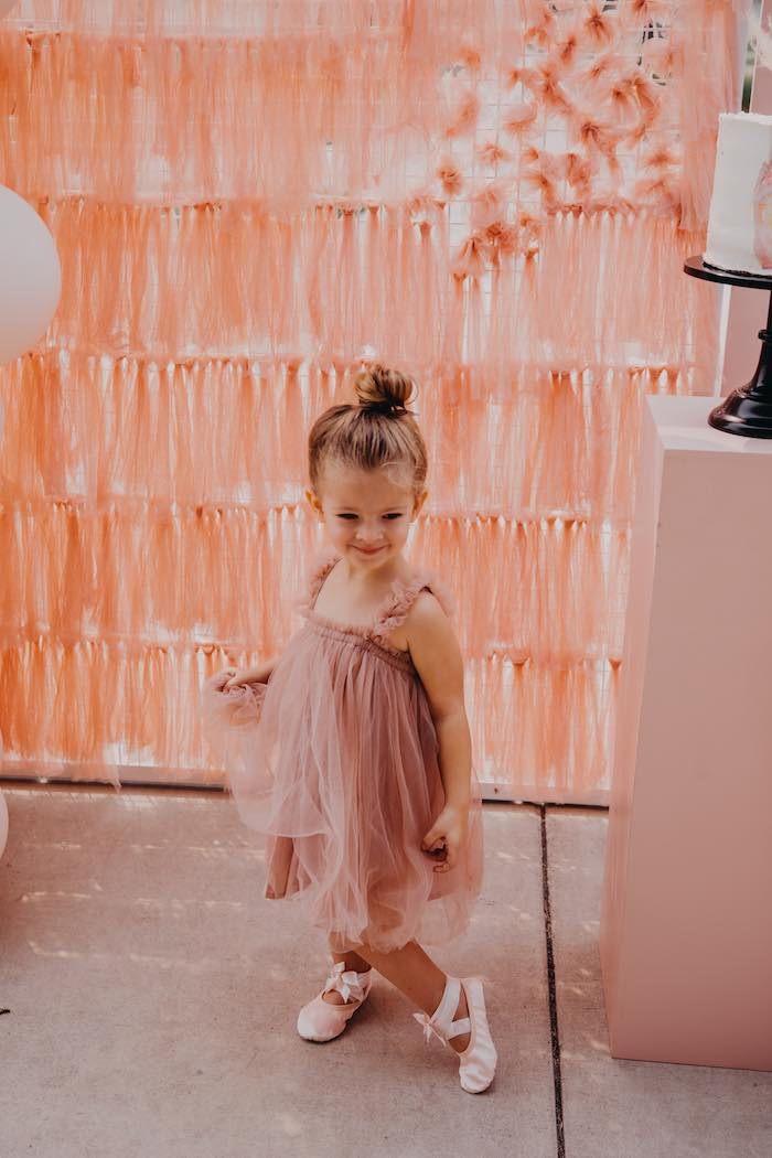 Pink Ballerina Birthday Party on Kara's Party Ideas | KarasPartyIdeas.com (22)