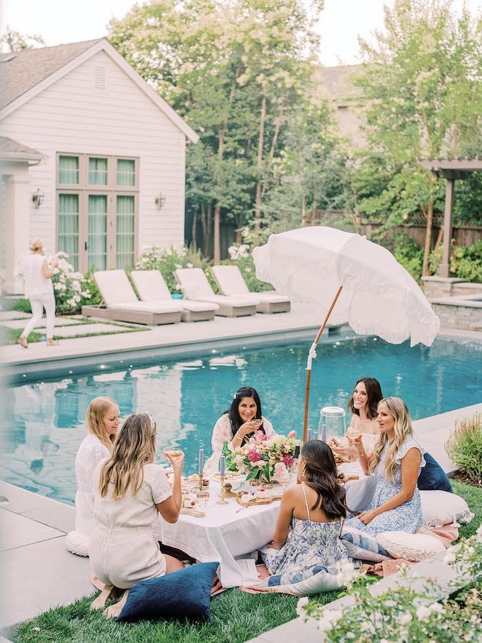 Poolside Picnic Party on Kara's Party Ideas | KarasPartyIdeas.com (26)