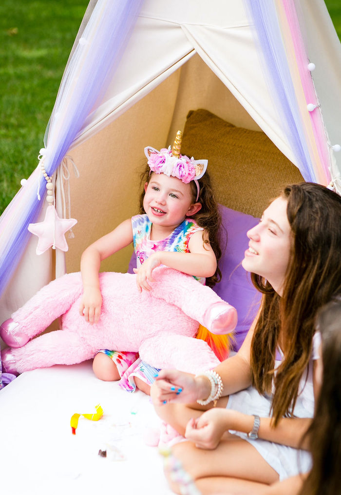 Rainbow Unicorn Birthday Party on Kara's Party Ideas | KarasPartyIdeas.com (19)