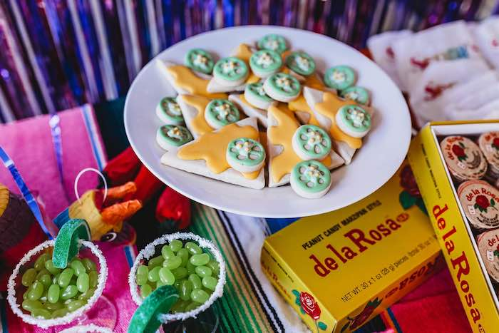 Nacho Sugar Cookies from a Three-esta 3rd Birthday Fiesta on Kara's Party Ideas | KarasPartyIdeas.com (23)