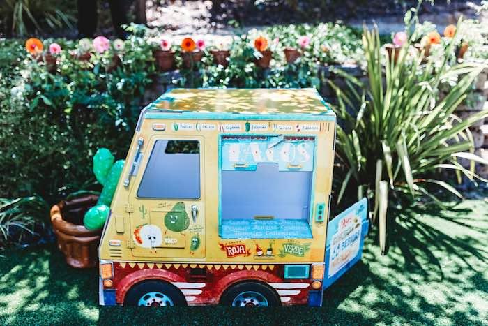 Box Taco Truck from a Three-esta 3rd Birthday Fiesta on Kara's Party Ideas | KarasPartyIdeas.com (10)