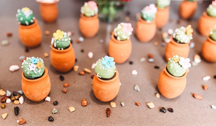 Cactus Cake Pops from a Three-esta 3rd Birthday Fiesta on Kara's Party Ideas | KarasPartyIdeas.com (45)