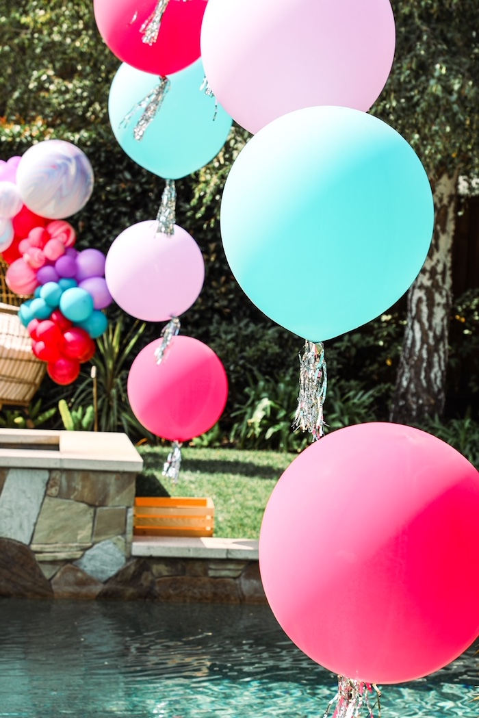 Balloons from a TikTok Teen Birthday Party on Kara's Party Ideas | KarasPartyIdeas.com (15)