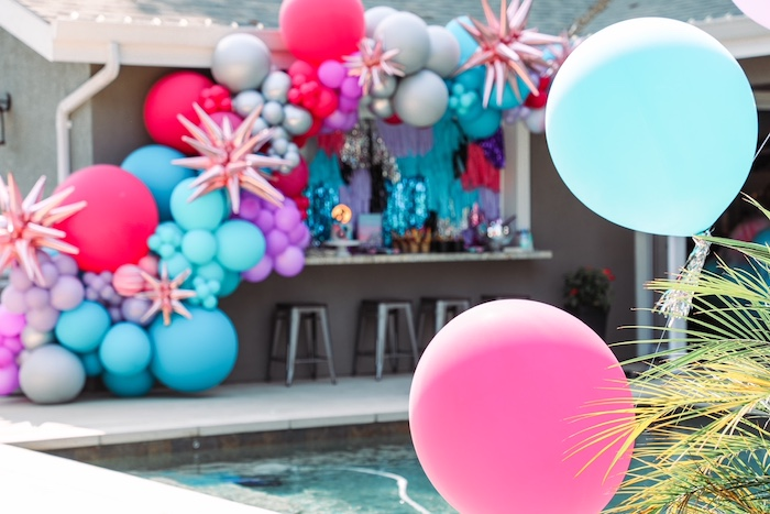 Balloons from a TikTok Teen Birthday Party on Kara's Party Ideas | KarasPartyIdeas.com (13)