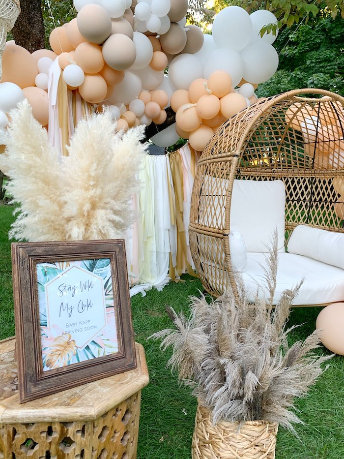 Tropical Boho Baby Sprinkle on Kara's Party Ideas | KarasPartyIdeas.com (7)