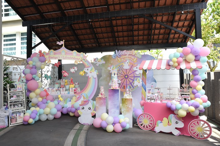 Unicorns & Rainbows Birthday Party on Kara's Party Ideas | KarasPartyIdeas.com (8)