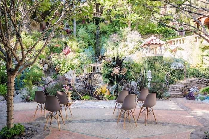 Vintage Modern Elegant Garden Wedding on Kara's Party Ideas   KarasPartyIdeas.com (30)