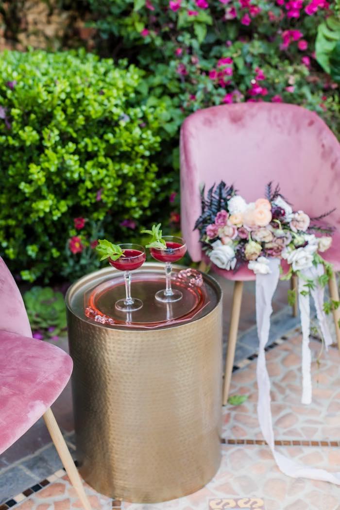Vintage Modern Elegant Garden Wedding on Kara's Party Ideas   KarasPartyIdeas.com (28)