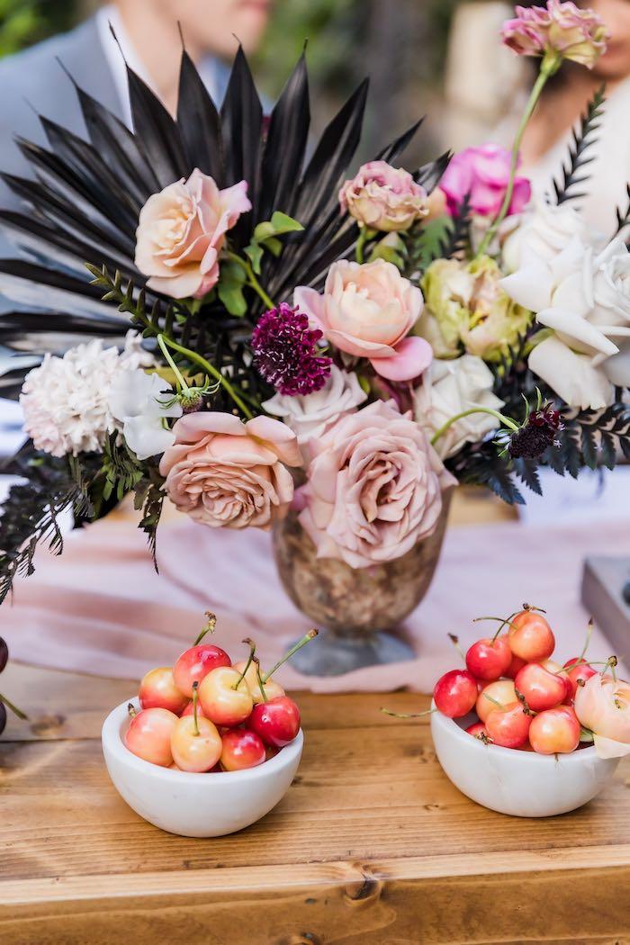 Vintage Modern Elegant Garden Wedding on Kara's Party Ideas   KarasPartyIdeas.com (18)