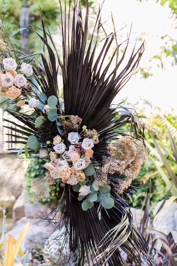 Vintage Modern Elegant Garden Wedding on Kara's Party Ideas   KarasPartyIdeas.com (32)