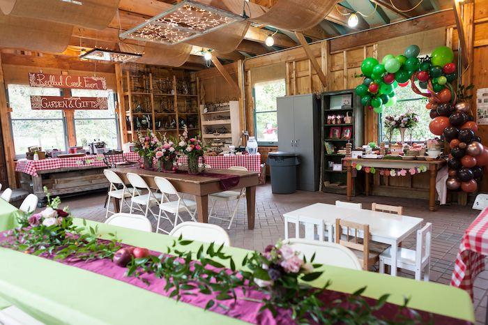 Apple Orchard Birthday Party on Kara's Party Ideas | KarasPartyIdeas.com (24)