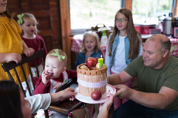 Apple Orchard Birthday Party on Kara's Party Ideas | KarasPartyIdeas.com (13)