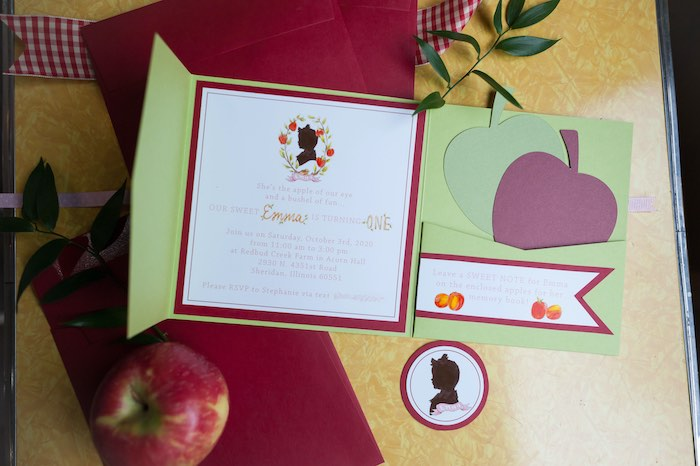 Apple Orchard Birthday Party on Kara's Party Ideas | KarasPartyIdeas.com (6)